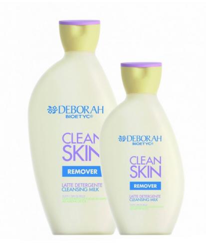 Latte detergente Clean Skin Remover DEBORAH