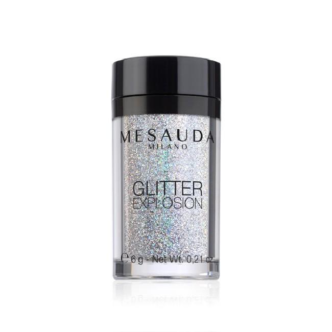 Glitter Explosion decorazione unghie e viso MESAUDA