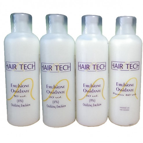 Emulsione ossidante 10 20 30 40 volumi HAIR TECH