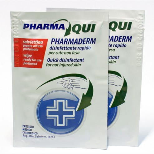 Salvietta Disinfettante Monouso PHARMADERM