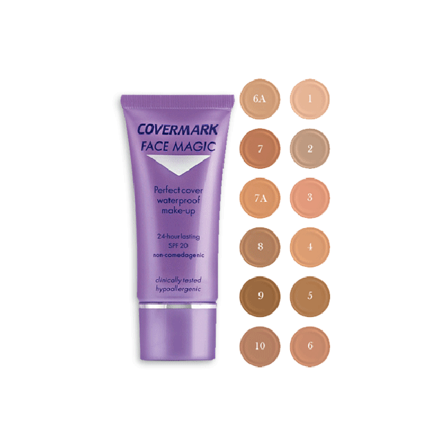 Fondotinta Cremoso Waterproof Face Magic COVERMARK