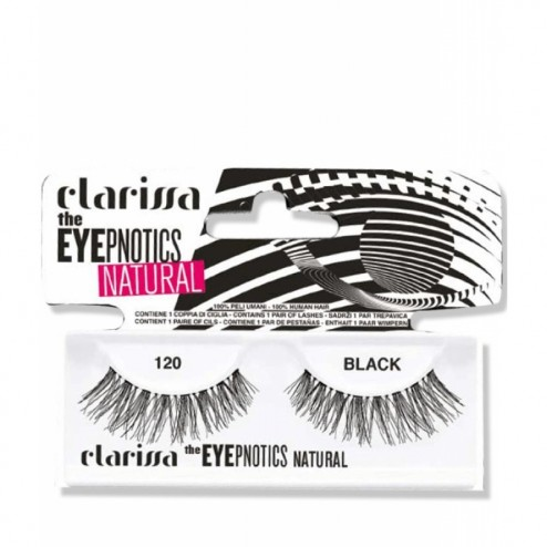 Ciglia Finte n°120 The Eyepnotics Natural CLARISSA