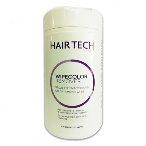 Salviette Smacchianti Wipecolor Remover HAIR TECH