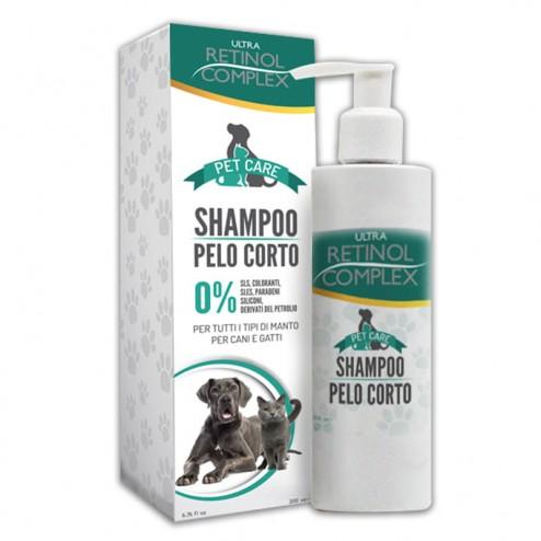 Shampoo per cani pelo corto Pet Care RETINOL COMPLEX