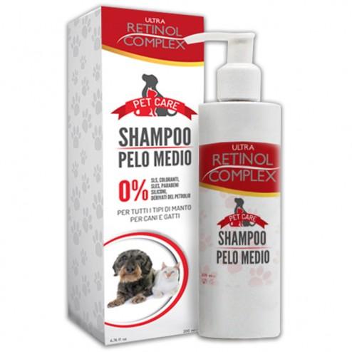 RETINOL COMPLEX Pet Care Shampoo Pelo Medio
