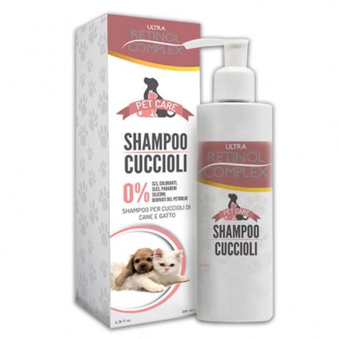 Shampoo cuccioli Pet Care RETINOL COMPLEX