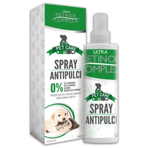 Antipulci cane Pet Care RETINOL COMPLEX