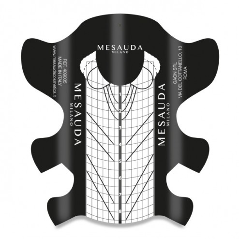 Cartine Adesive Ricostruzione Stiletto MESAUDA