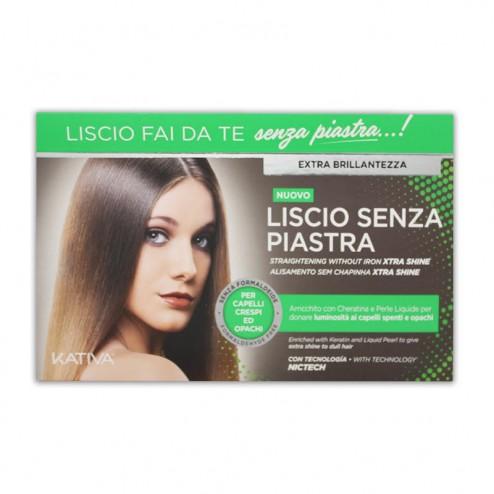 Kit Liscio Senza Piastra Extra Brillantezza KATIVA