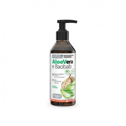 Shampoo Aloe Vera e Baobab PURO by FORHANS
