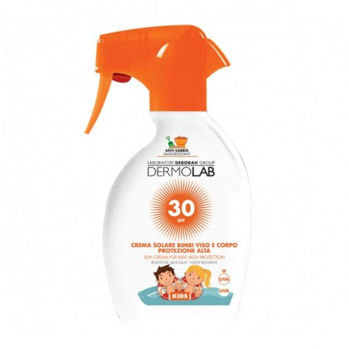 Crema Solare Spray Bimbi SPF30 DERMOLAB
