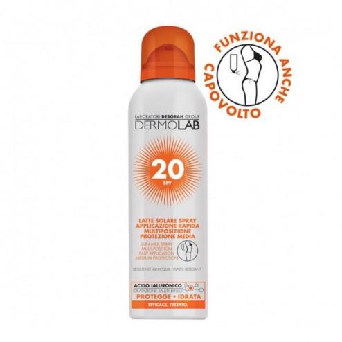 Latte Solare Spray Protezione 20 DERMOLAB