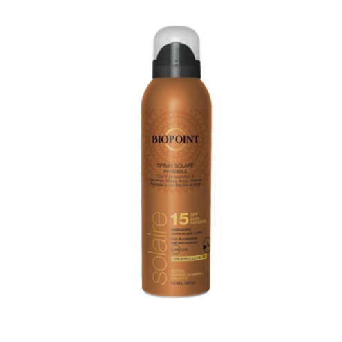 Spray Solare Invisibile SPF15 BIOPOINT
