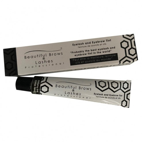 Tinta Eyelash and Brow Tint Deep Black TRUE LASHES