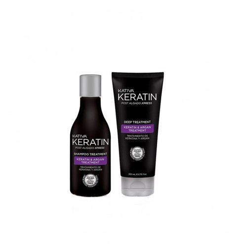 Kit Post Lisciatura Xpress Keratin KATIVA