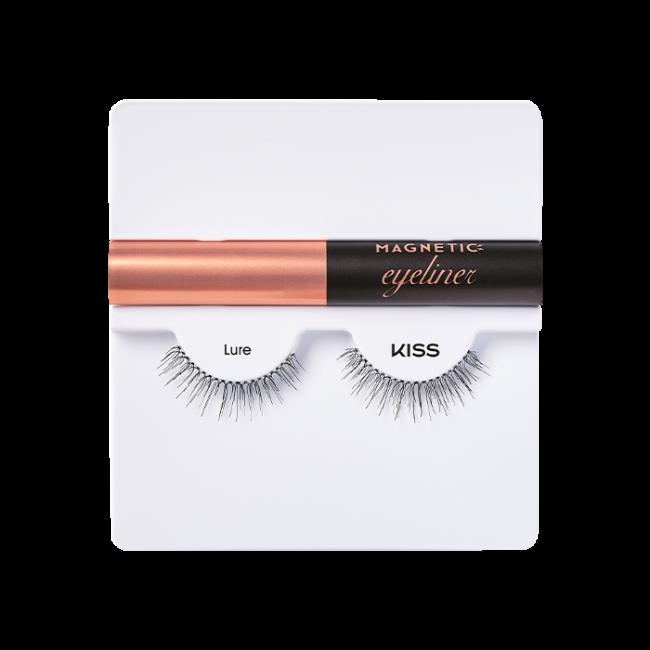 Kit per Ciglia Magnetiche Magnetic Eyeliner KISS