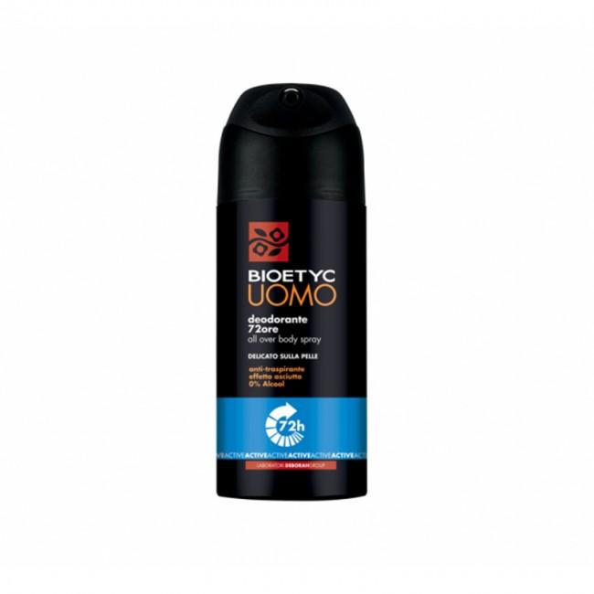 Deodorante Spray Active 72 Ore Uomo BIOETYC