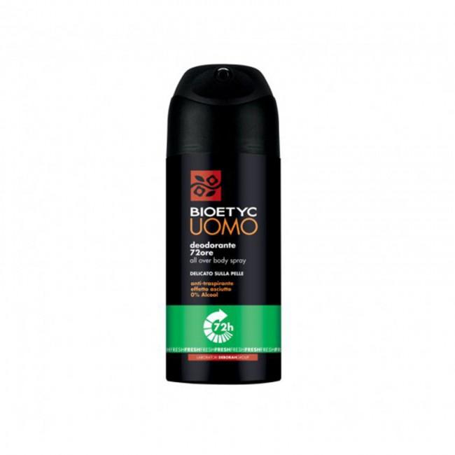 Deodorante Spray Fresh 72 Ore Uomo BIOETYC