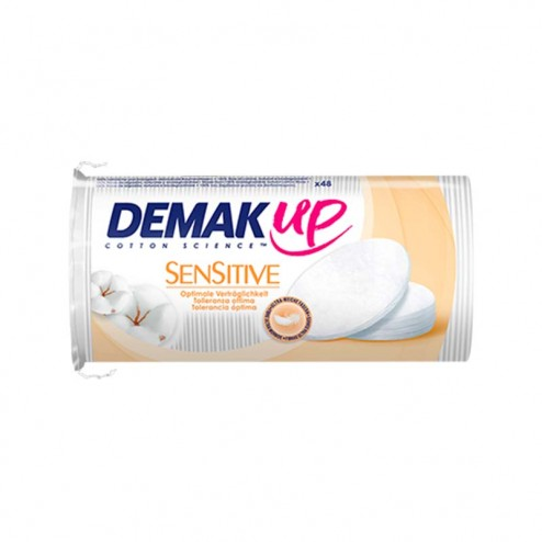 Dischetti di Cotone Ovali Sensitive DEMAK'UP