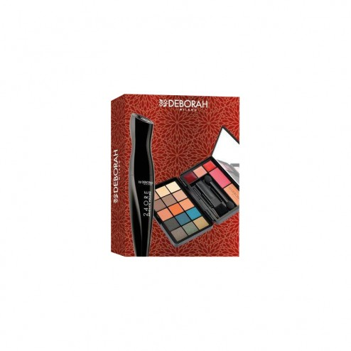 Kit Makeup Mini + Mascara Absolute Volume DEBORAH
