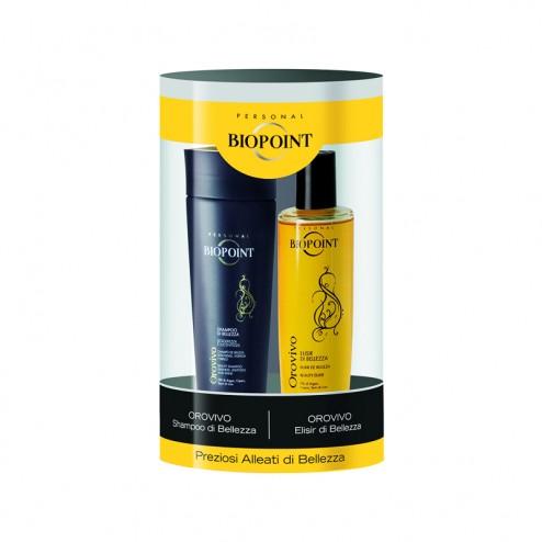 Cofanetto Shampoo e Elisir Orovivo BIOPOINT