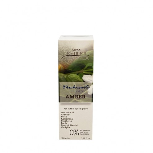 RETINOL COMPLEX Deodorante Amber