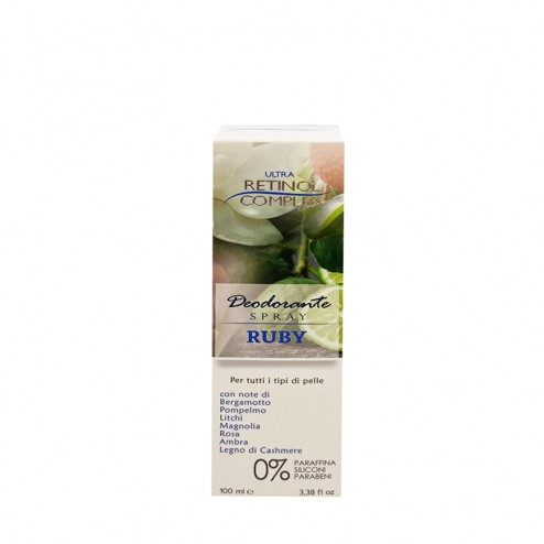 RETINOL COMPLEX Deodorante Ruby