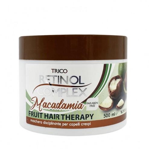 RETINOL COMPLEX Maschera per capelli crespi Macadamia