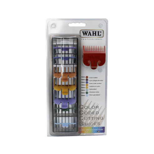 WAHL Color Coded Cutting Guides Rialzi Colorati