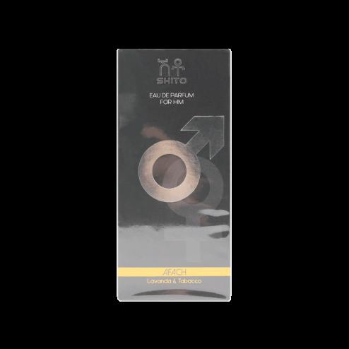 SHITO Afach Eau de Parfum Uomo Lavanda e Tabacco