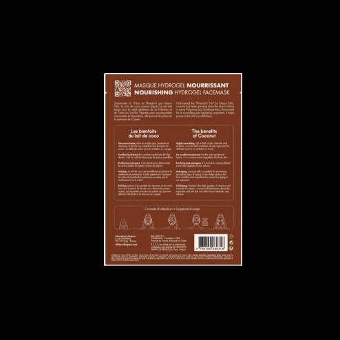 ELLE Maschera Hydrogel Nutriente al Cocco