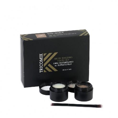 TRICOMIX Kit Fibre Volumizzanti per Sopracciglia