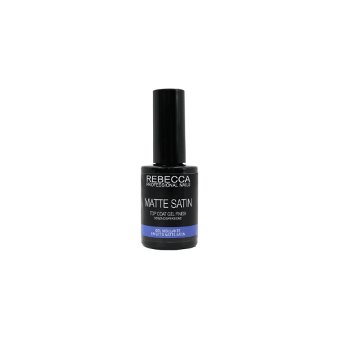REBECCA PROFESSIONAL NAILS Top Coat Matte Satin