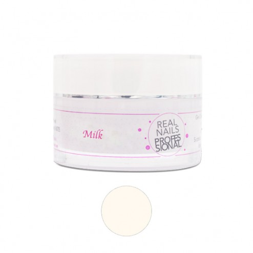 REAL NAILS PROFESSIONAL Gel Camouflage Milk 30gr
