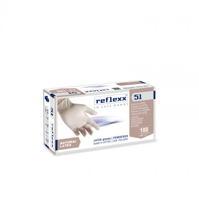 REFLEXX Guanti Lattice con Polvere