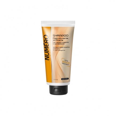 Shampoo Ristrutturante per capelli all'avena