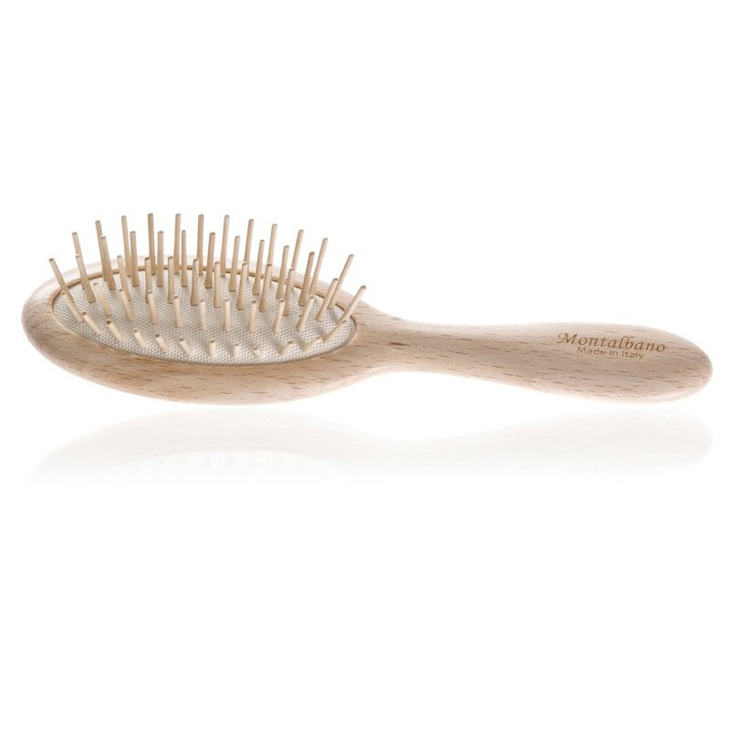 spazzola districante in legno