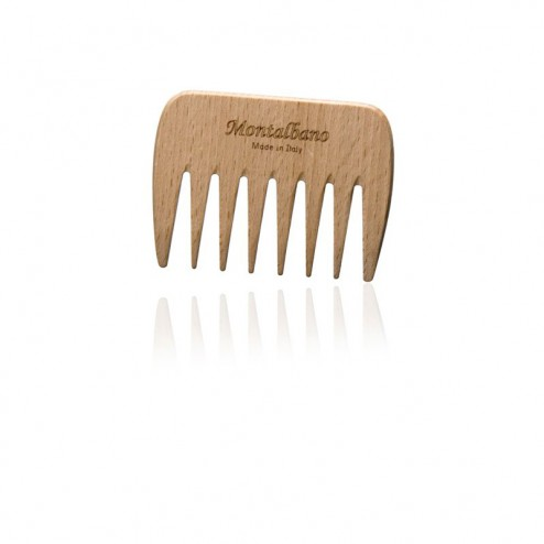 Pettine legno formato borsetta