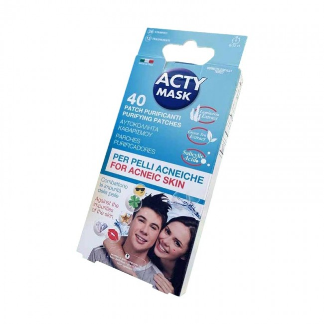 ACTY MASK Patch Purificanti Stampati