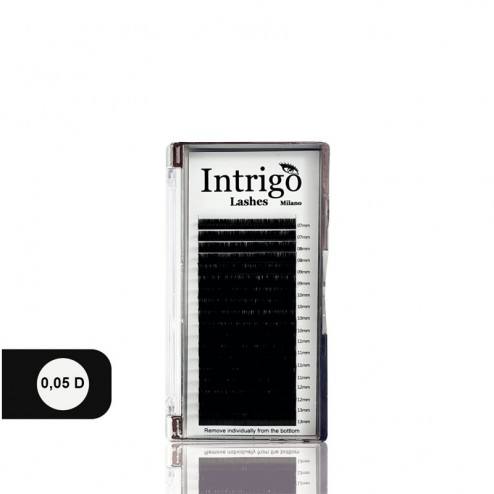 INTRIGO Lashes Box 0,05 D 18 Linee
