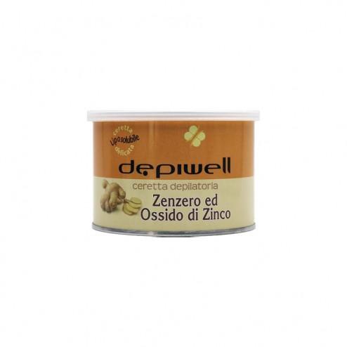 DEPIWELL Cera Depilatoria Liposolubile zenzero e ossido di zinco