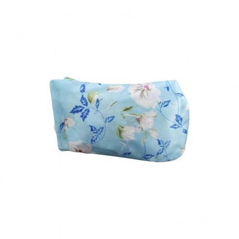 EMANUELA BIFFOLI Cuffia da Doccia Fantasia azzurra con fiori