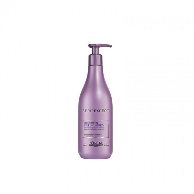 L'OREAL Shampoo Capelli Crespi Liss Unlimited SerieExpert