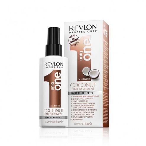 REVLON UniqOne Coconut Maschera Capelli Spray
