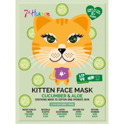 7th HEAVEN Kitten Face Mask
