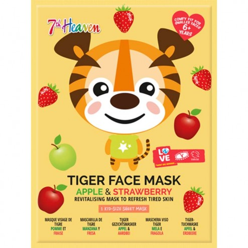 7th HEAVEN Tiger Face Mask