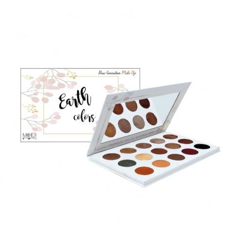 M@KEAPLAB Palette Occhi e Viso Earth Colors