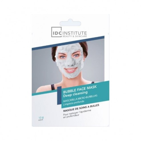 IDC INSTITUTE Bubble Face Mask